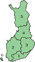 Counties in Finland 1997-2009